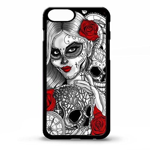 """11,94 cm (4,7"""")-Cover per Iphone 6, motivo: il giorno della morte tatuaggi sugar skull-rose tattoo graphic art phone case"""