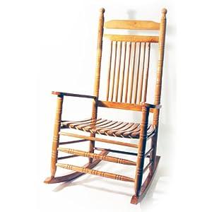 Orleans legno massello sedia a dondolo tradizionale in for Sedia a dondolo amazon