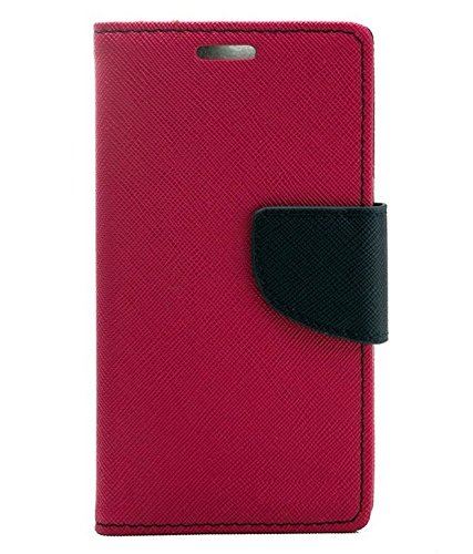 Mobimax Dairy Wallet Case For Lenovo A 6000 - Pink