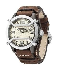Timberland - TBL.13867JPGYS/14 - Maplewood - Montre Homme - Quartz Analogique - Cadran Beige - Bracelet Cuir Marron