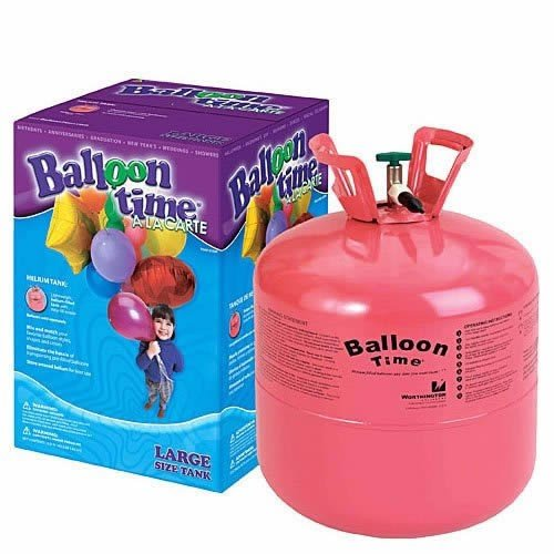 how to produce helium gas