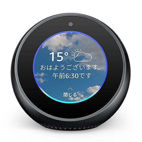【セール】スクリーン付きスマートスピーカー「Echo Spot」4,500円オフで10,480円【30%オフ】