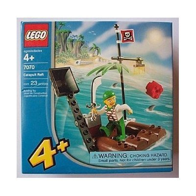 51h26CoJcIL Cheap Price LEGO 4+ Juniors Pirates Catapult Raft (7070)