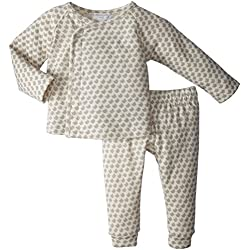 Serena & Lily Mercer Layette Set (Baby) - Mocha-6-12 Months