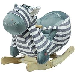 """Schaukeltier Schaukelpferd Zebra """"Ben the Zebra"""" supersüss,sehr hochwertige Ausführung mit Funktion Lullaby Lied"""