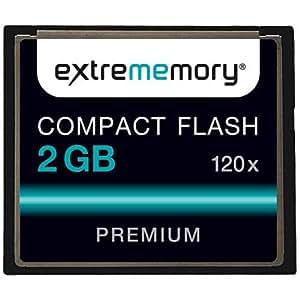 Extrememory EXMECF02G120 Premium CompactFlash 2GB Speicherkarte 120x