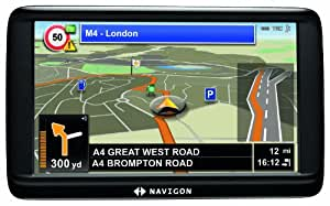 "Navigon 70 Easy 5"" Sat Nav with Europe Maps (23 Countries)"