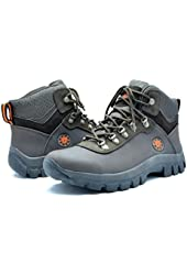 DREAM PAIRS Men's 1551 Water Resistance Rubber Sole Work Boots