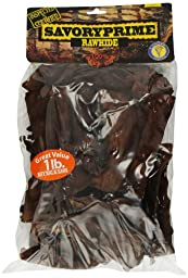 Savory Prime 1-Pound Rawhide Chips Beef
