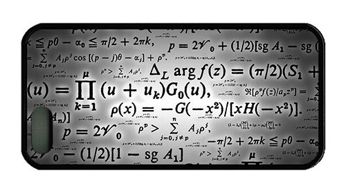 Hipster Iphone 5 Free Shipping Cover Calculation Formulae Tpu Black For Apple Iphone 5/5S front-880072