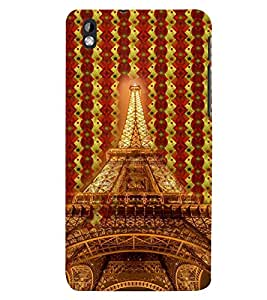 PRINTSWAG TOWER Designer Back Cover Case for HTC DESIRE 816