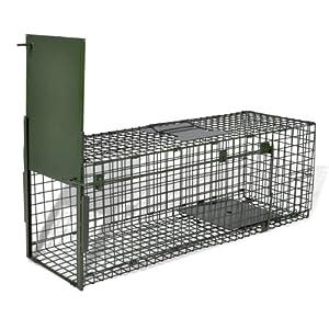 Cage piège pour animauxn une entrée anti rongeur