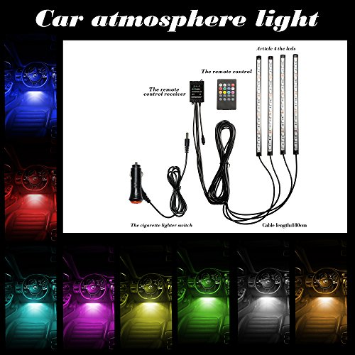 ean 6930925029142 etzone etzone e tzone led car interior underdash lighting kit sound activated. Black Bedroom Furniture Sets. Home Design Ideas