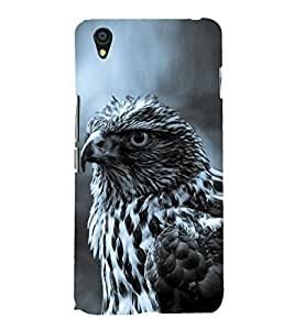 Hawk 3D Hard Polycarbonate Designer Back Case Cover for OnePlus X :: One Plus X :: One+X