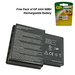 Gateway M305CRV Laptop Battery - Premium Powerwarehouse Battery 6 Cell