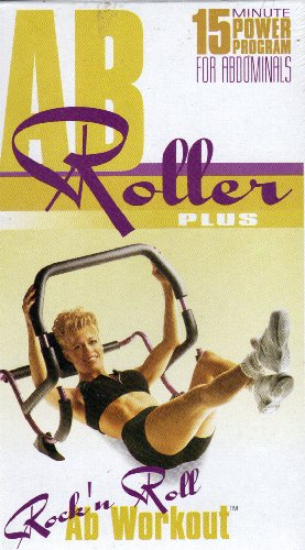 AB Roller Plus: Rock 'n Roll Ab Workout (Tape only, machine is not included)
