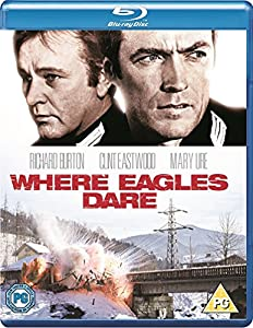 Where Eagles Dare [Blu-ray] [1968] [Region Free]