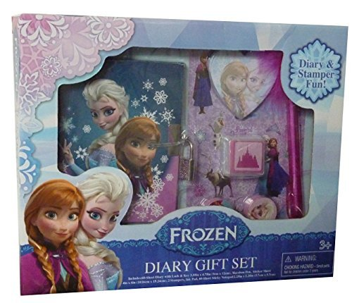 Tri-Coastal Design Frozen Boxed Diary Gift Set