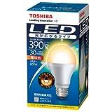 東芝 E-CORE(イー・コア) LED電球 一般電球形 6.9W(光が広がるタイプ・密閉形器具対応・E26口金・390ルーメン・電球色) LDA7L-G/2