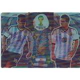 FIFA World Cup 2014 Brazil Adrenalyn XL Lionel Messi / Sergio Aguero Double Trouble