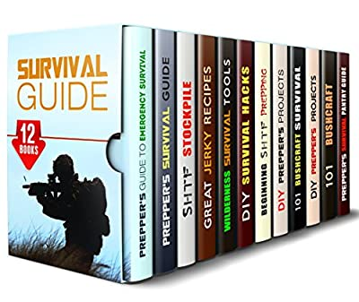 Survival Guide Box Set (12 in 1): Essential Prepping Tips and Tools, Bushcraft and Wilderness Survival Strategies, SHTF Stockpile, Prepper's Pantry, Hacks and Projects (Prepping & Off the Grid)