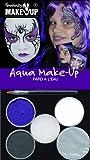 Fantasy Aqua Make up Witch/Spider