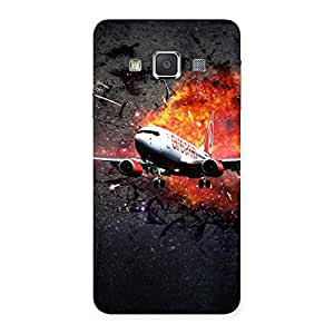 Blast Plain Back Case Cover for Galaxy A3