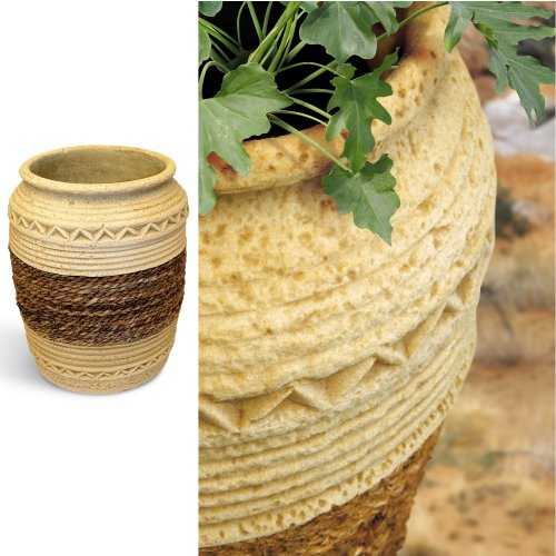 Etno-Decorato - Garden Planter / Flower Pot for Indoors and Outdoors