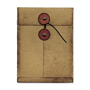 Sizzix Movers & Shapers L Die - Pocket Envelope by Tim Holtz