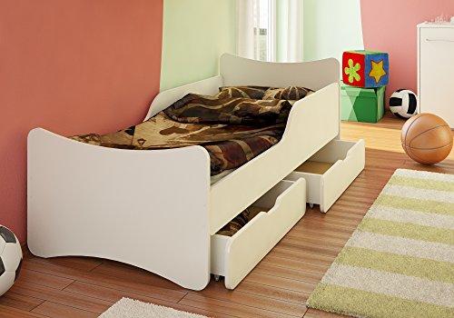 kinderbett 90x200 weiss storeamore. Black Bedroom Furniture Sets. Home Design Ideas