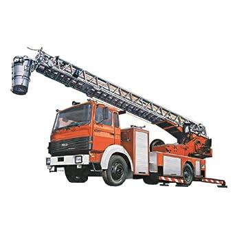 Amazon.com: Italeri IVECO-Magirus DLK 23-12 Fire Ladder Truck: Toys