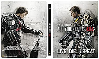 【Amazon.co.jp限定】オール・ユー・ニード・イズ・キル 3D & 2D ブルーレイセット スチールブック仕様(完全数量限定/2枚組/デジタルコピー付) [Blu-ray]