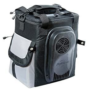 Koolatron 14-Quart Soft-Sided Electric Travel Cooler, Dark Grey