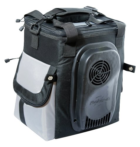 Cheapest Prices! Koolatron 14-Quart Soft-Sided Electric Travel Cooler, Dark Grey