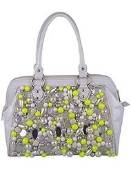Aparna Suneja Women's Handbag (HB12, White)