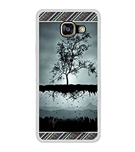 ifasho tree on air animated beautiful Back Case Cover for Samsung Galaxy A7 (2016)