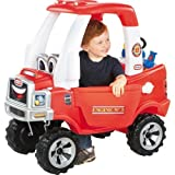 Little Tikes Cozy Truck Fire Engine with Water Sprayer