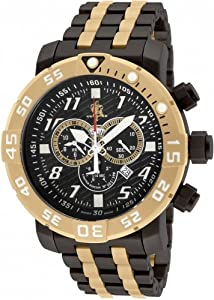 Invicta 17551 Men's Sea Base Titanium Black Polyurethane Limited Edition Watch