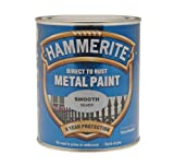 ICI 5092808 750ml Hammerite Metal Paint Smooth - Silver