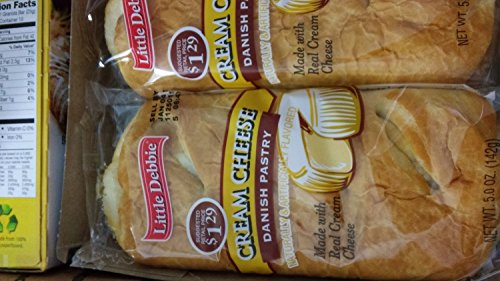 Little Debbie Cream Cheese Danish Pastry 5 Oz (48 Pack) (Cheese Danish compare prices)