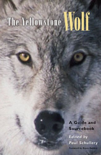 The Yellowstone Wolf: A Guide And Sourcebook front-903563