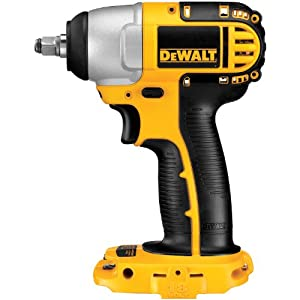 DEWALT Bare-Tool DC823B 3/8-Inch 18-Volt Cordless Impact Wrench (Tool Only, No Battery) by DEWALT