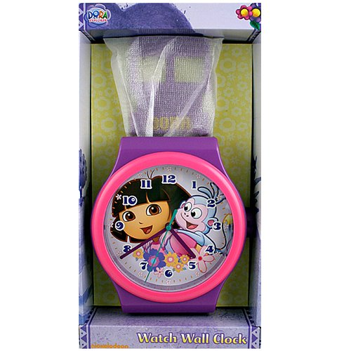 "Dora Watch Clock -36"" Tall"