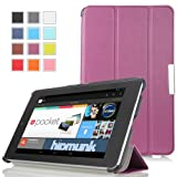 MoKo Ultra Slim Lightweight Smart-shell Stand Case For Google Nexus 7 Inch Tablet By ASUS PURPLE (with Smart Cover...