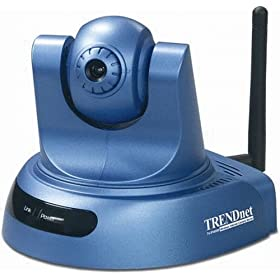 TRENDnet Wireless Advanced Pan/Tilt Internet Camera Server TV-IP400W (Version B1.xR)