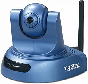 Trendnet proview wireless advanced pan tilt for Camera it web tv