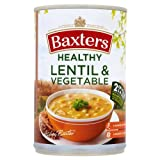 Baxters Healthy Lentil & Vegetable Soup 4x400g