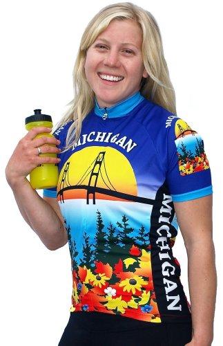 Buy Low Price Women's Michigan Short Sleeve Jersey (B008WIEL7A)