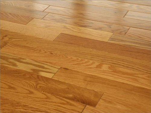 3-1/2 x 3/4 inch Greenland Solid Hardwood Oak Golden Wheat Flooring (6 inch Sample)