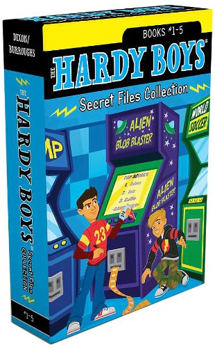 The-Hardy-Boys-Secret-Files-Collection-Books-1-5-Trouble-at-the-Arcade-The-Missing-Mitt-Mystery-Map-Hopping-Mad-A-Monster-of-a-Mystery-Hardy-Boys-The-Secret-Files